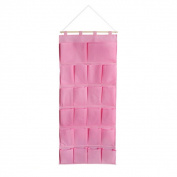 Blancho Bedding BN-WH023 Pink Hanging Wall Hanging/ Wall Organizers / Wall Baskets / Hanging Baskets