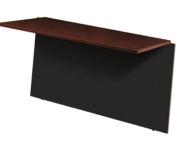 Bestar 99830-2139 Prestige Plus keyboard shelf and CPU platform in Bordeaux& Graphite finish