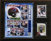 C and I Collectables 1215BILLS10 NFL Buffalo Bills 2010 Team Plaque
