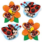Beistle 54870 Mini Ladybug Cutouts
