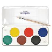 Finetec F6000 Preschool Watercolour Paint 6-Colour Set