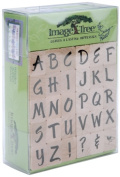 Ek Success ITABC/BL Image Tree Wood Handle Rubber Stamp Set