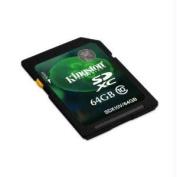 KINGSTON SDX10V-64GB 64GB SDXC CLASS 10 FLASH CARD