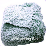 Woven Workz 051-101 Betsy Throw - Whispering Blue