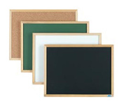 Aarco Products EB1824 Economy Series Wood Frame Natural Cork Board