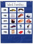 Carson Dellosa CD-158159 Mini Essential Pocket Chart