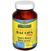Natures Answer 1159748 Bacopa 500 mg 90 Veggie Caps - 90 Caps