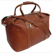 Piel Leather 2508 European Carry-On - Saddle