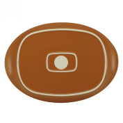 Rachael Ray 58354 Round & Square, 36cm Oval Platter, Green