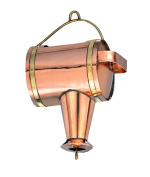 Good Directions 489P 11 in. x 7 in. x 4.5 in. Watering Can Leader - Polished Copper