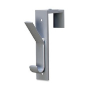 Deflect-O Corporation DEF3680909 Partition Hook- 1-.50in.x6-.50in.x2-.50in.- Adjusts to 2-.75in.- Gray