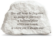 Kay Berry 94220 Garden Accents - You will never be forgotten?