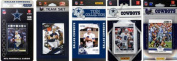 C & I Collectables COWBOYS512TS NFL Dallas Cowboys 5 Different Licenced Trading Card Team Sets