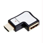 SPIDER INTERNATIONAL S-HDMIAD-R01 S SERIES HDMI FLAT 90 DEGREE ADAPTER RIGHT