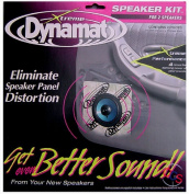 Dynamat 10415 Xtreme Speaker Kit - Two 10 x 10 Xtreme Speaker Kit Sheets
