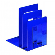 STEELMASTER Soho Collection 241873S08 Deluxe Bookend Sorter Square - Blue
