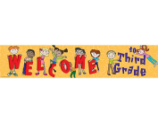 Teacher Created Resources 4573 Welcome to 3rd Grade Banner