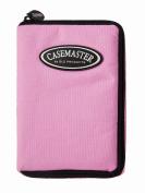 GLD Casemaster 36-0902-12 Select Pink Nylon Dart Case