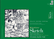 Strathmore ST457-18 46cm . x 60cm . 400 Series Wire Bound Recycled Sketch Pad - 30 Sheets
