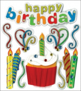 Jolees 476793 Jolees Boutique Dimensional Stickers-Happy Birthday