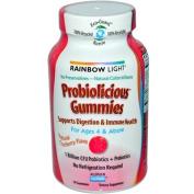 Rainbow Light 0700344 Probiolicious Gummies Natural Cranberry - 50 Gummies