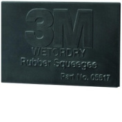 3M MMM5518 Squeegees Rubber Wetordry 7.6cm X 5.1cm 50-Cs
