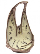 Unicorn Studios BD08394A4 Art Nouveau Melting Clock