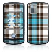 DecalGirl LGSN-PLAID-TUR LG Shine Skin - Turquoise Plaid