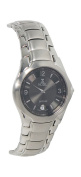 Nobel Watch N 758 G Stainless Steel Gents Watch Gray-Black Dial Swiss Movement Sapphire Crystal Water-resistant 3 ATM