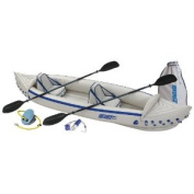 Sea Eagle Boats SE370K-P SE370 Sport Kayak Pro Package
