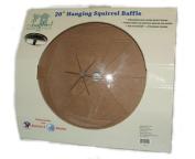 Songbird Essentials SESQ84 Unbreakable Hanging Baffle, Clear, 50cm