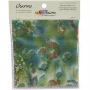 Fabric Palette Charm Pack, 13cm x 13cm Cuts, 100% Cotton, 20/pkg