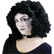 Costumes For All Occasions Fw9260Bk Wig Curly Party Black
