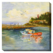 West of the Wind All-Weather Art Print, 60cm , Safe Harbour