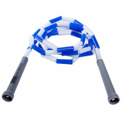 Power Systems 35207 2.1m Beaded Jump Rope - Blue-White