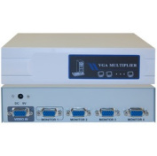 CableWholesale 41H1-14814 VGA Video Splitter 1 PC to 4 Monitors 400MHZ