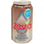 Zevia 61939 Natural Root Beer Diet Soda