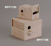PREVUE PET PRODUCTS BPV1106 Cockatiel Outside Nest Box