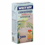 Westsoy 31064 Organic Vanilla Unsweetened Westsoy