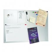 STEELMASTER Soho Collection 270162450 Magnetic Board 14 in. x 24 in. - Silver