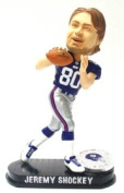 Caseys Distributing 8132936188 New York Giants Jeremy Shockey Forever Collectibles Black Base Edition Bobble Head