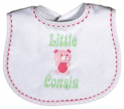 Dee Givens & Co-Raindrops 6353 Little Cousin Small Bib - Strawberry
