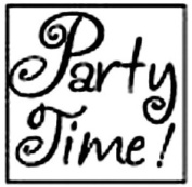Alvin MSH7272RPT Party Time Decorative Wax Resin Seal
