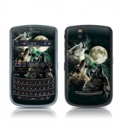 DecalGirl BBT-TWOLVES BlackBerry Tour Skin - Three Wolf Moon