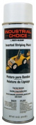 Rustoleum 1691-838 530ml White Industrial Choice Inverted Striping Paint Spray - Pack of 6