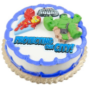 Deco Pac 191548 Marvel Super Hero Squad Cake Topper