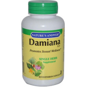 Natures Answer 0123695 Damiana Leaf - 90 Vegetarian Capsules