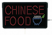 Aarco Products Inc. CHI09L High Visibility LED CHINESE FOOD Sign 33cm .Hx55.9cm .W