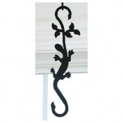 Village Wrought Iron SH-D-39 Salamander S-Hook - Black