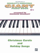 Alfred 00-BP33190A Bradley s Giant Christmas Piano Book - Music Book